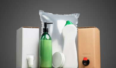 Packagings for chemicals and cosmetics